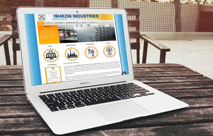 Ishkon-Industries-Websie