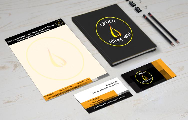 CPDLR Logo Design and Identity Design