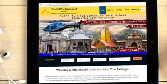 chardham tab view