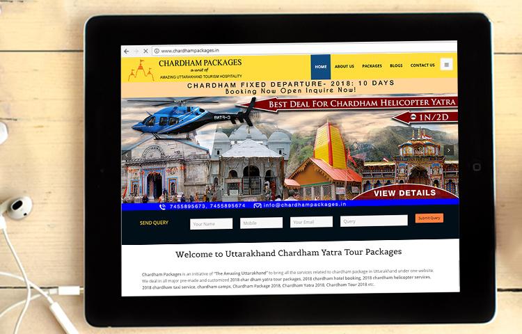 Website Design and Website Development company in Dehradun, Uttarakhand, India