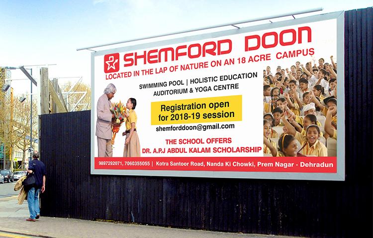 Shemford Doon School Hoarding Layout