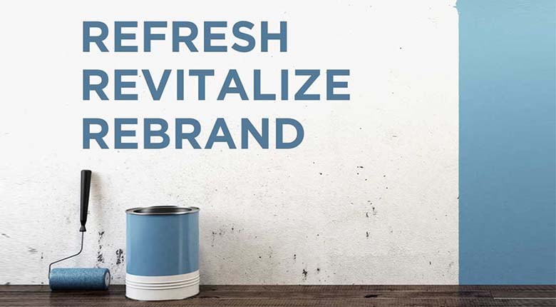 Refresh your Brand (Rebranding)