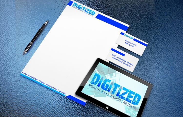digitized letter pad design in dehradun