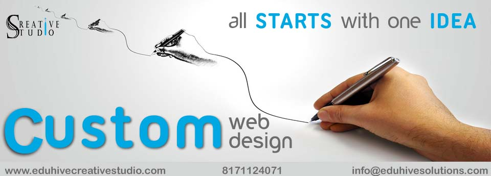 Custom Website Design in Dehradun