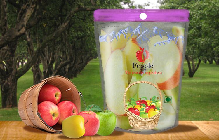 fepple - package design in dehradun