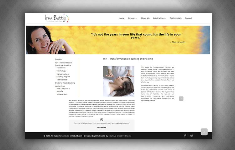 irmabattig-website design in dehradun