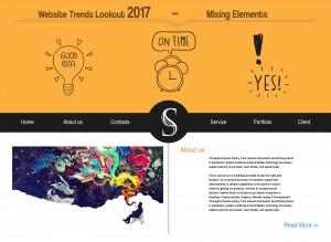 Website Trends lokkout 2017 mixing elements