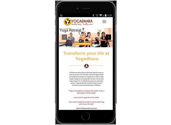 micro website design in dehradun