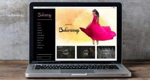 Bahuranngi website Desktop View