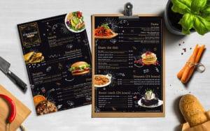 menu design services in dehradun