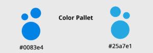 colour pallet for E Pack Website