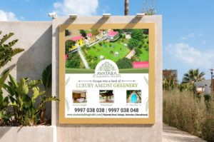 creative outdoor hoarding design service in dehradun
