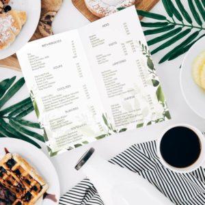 custom restaurant menu design services in dehradun