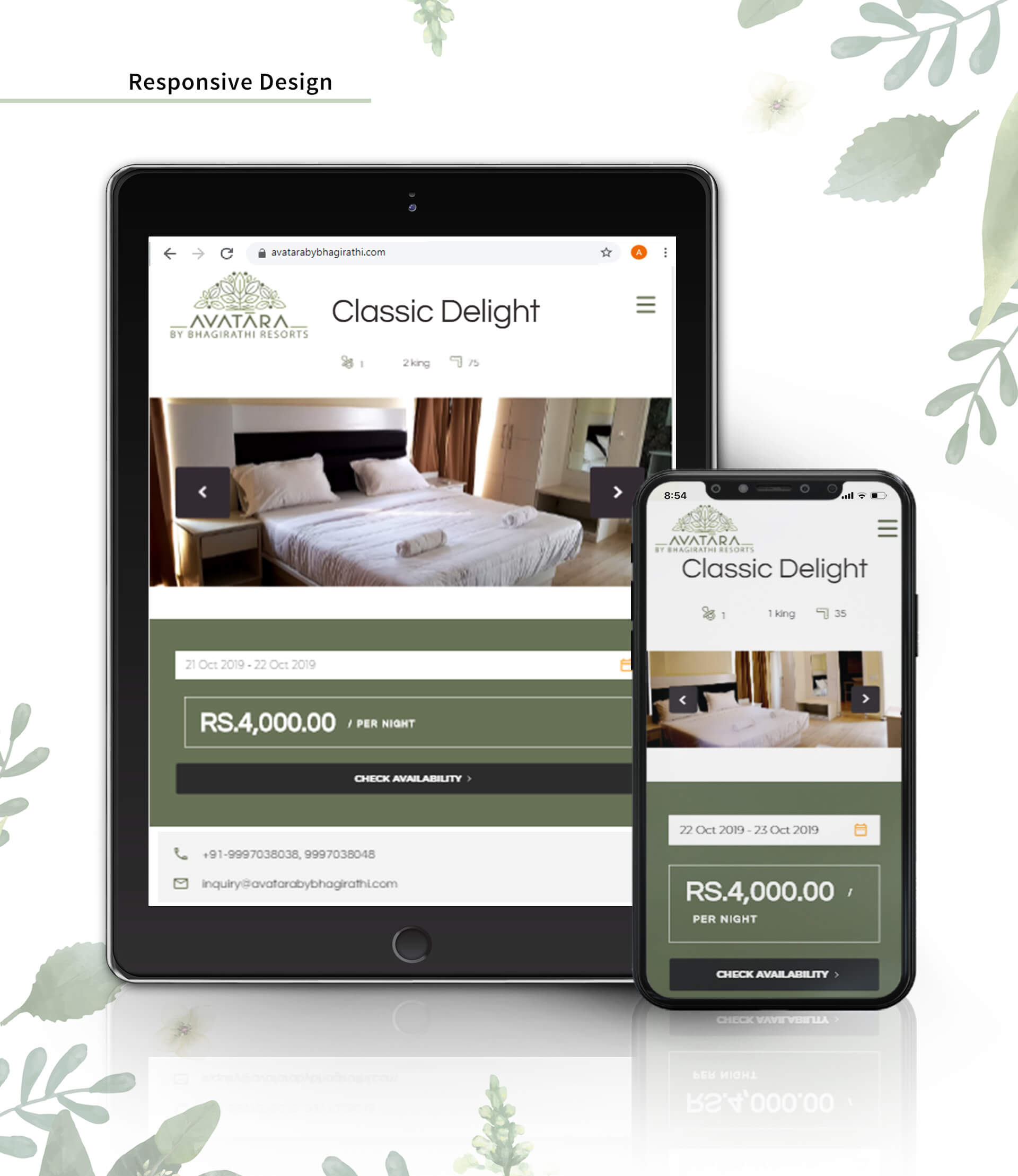 hotel website development service in dehradun