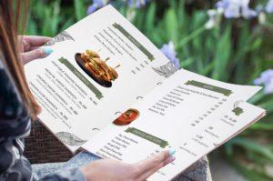 restaurant menu card design service in dehradun