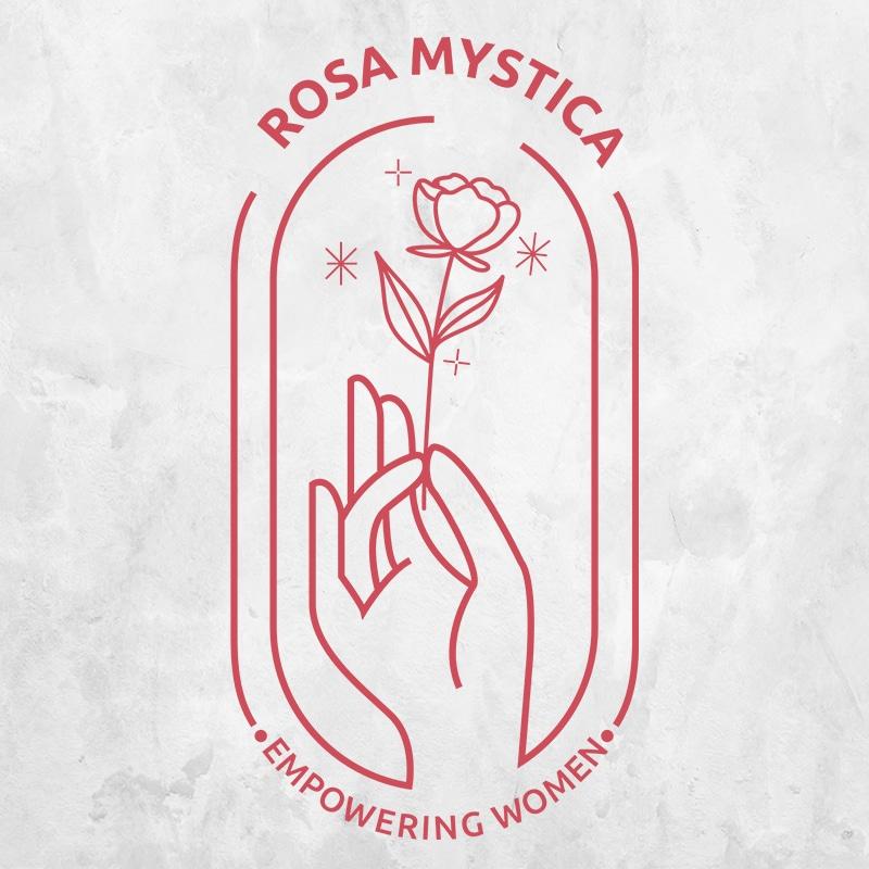 Rosa Mystica Logo Design