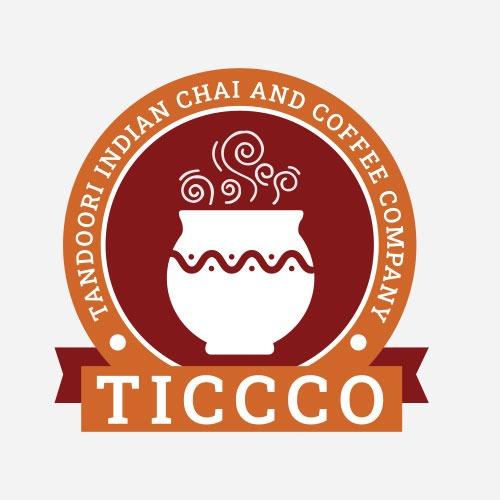 tandoori indian chai and coffee company logo design